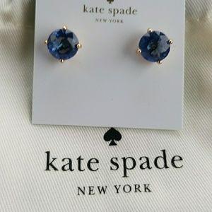 Kate Spade Blue Gumdrop Earrings